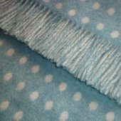 Bronte Merino Lambswool  Throw Eau de Nil