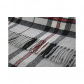 Bronte Grey Thompson Wool Throw