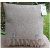 Bronte Viking Plain Wool Cushion